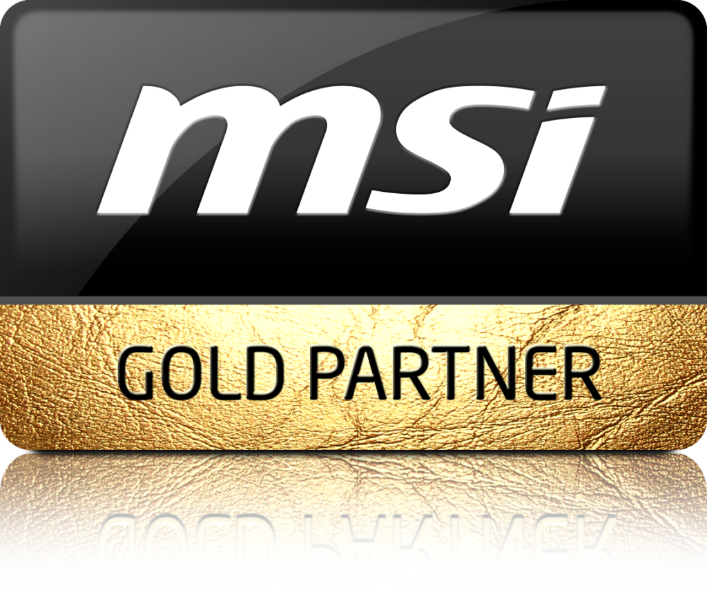 GOLD PARTNER MSI